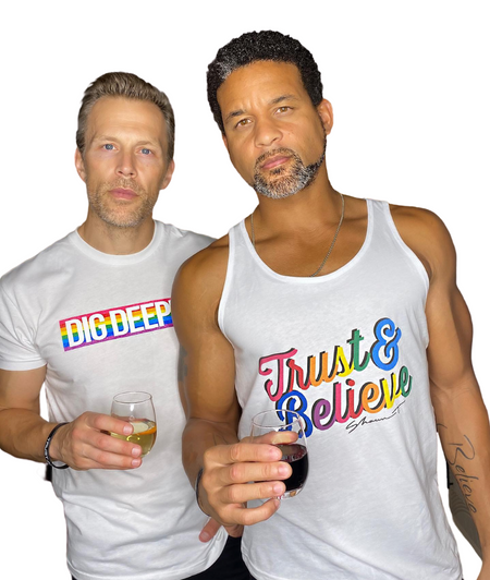 Trust & Believe Pride Everyday Men's Tank