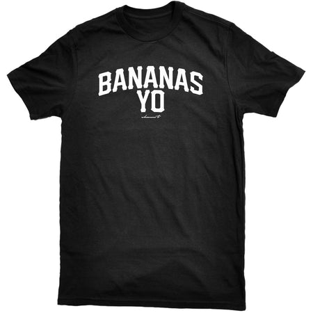 Bananas Yo Men's Tee - Black