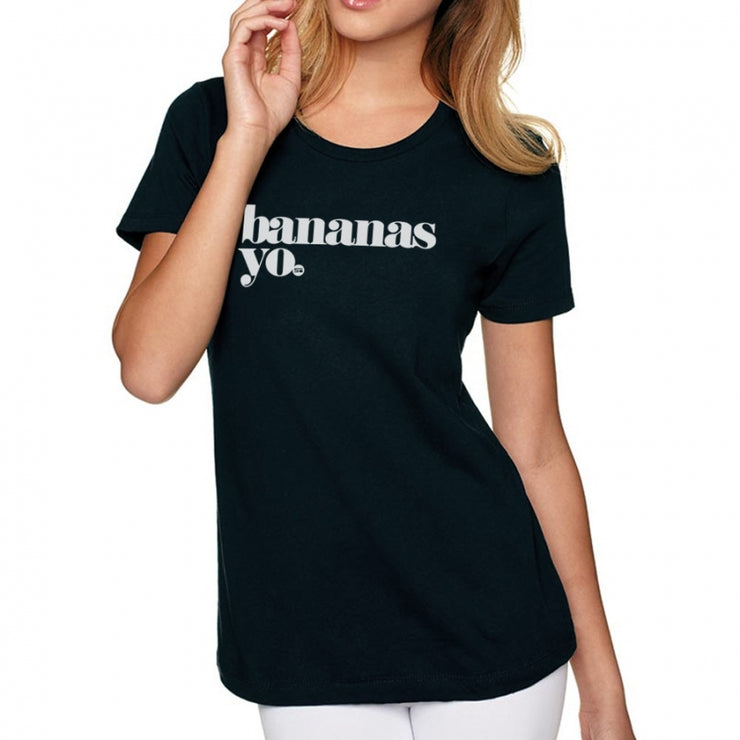 Bananas Yo V2 Men's/Women's Tee - Black