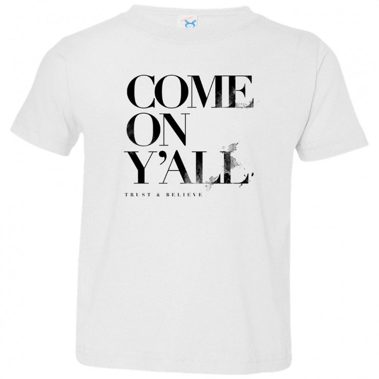 Come On Y'All V3 Toddler Tee