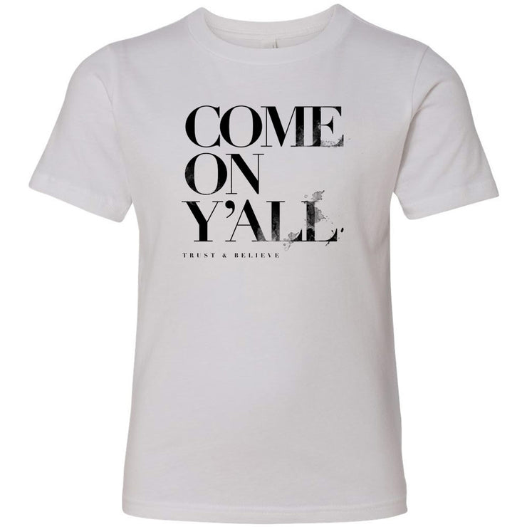 Come On Y'All V3 Youth Tee