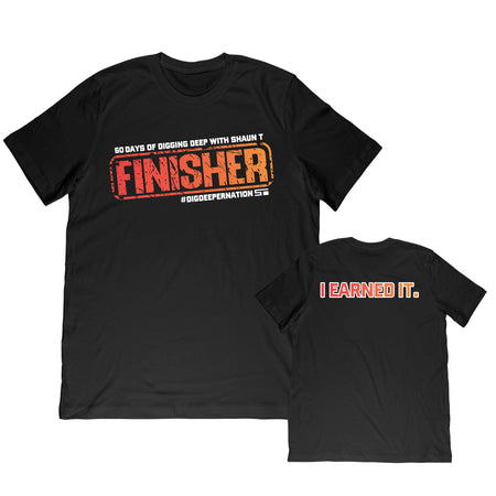I EARNED IT Finisher Men's Tee