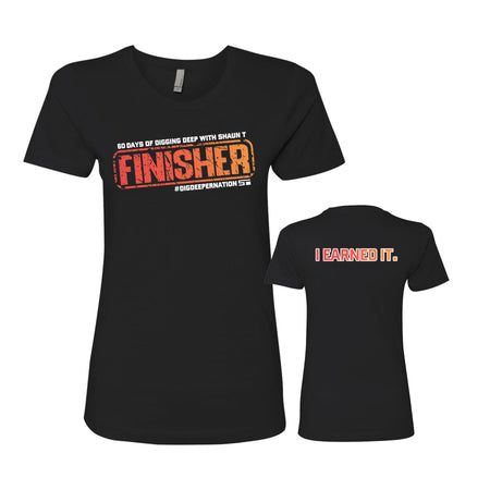 I EARNED IT Finisher Women's Tee