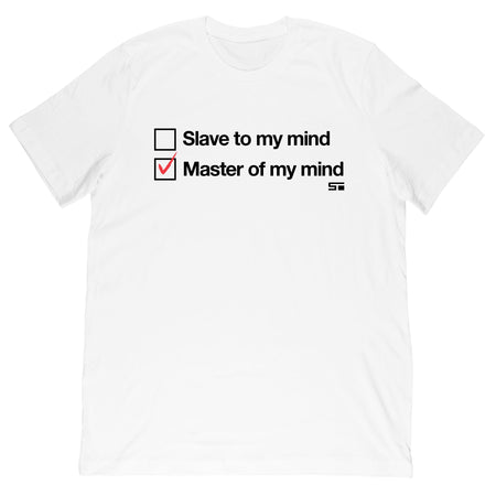 Master of My Mind Men's/Women's Tee