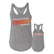 I EARNED IT Finisher Women's Racerback Tank
