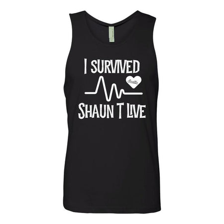 I Survived Heart Rate Tank - Black