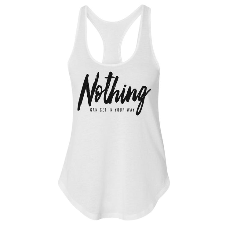 Nothing Women's Premium Racerback