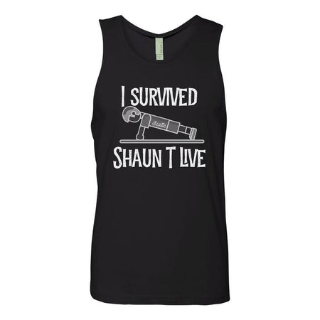 I Survived Push-Up Tank - Black