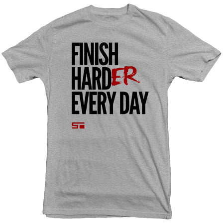 Finish Harder Men's Tee