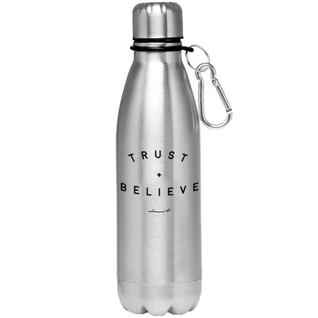 Trust + Believe Aluminum Water Bottle