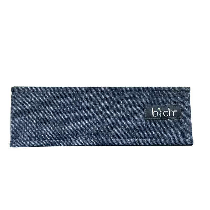 Denim Blue Polartec Lined Headband