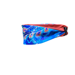 Electric Blue And Coral Fitness Headband