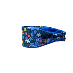 Periwinkle Floral Fitness Headband
