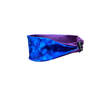 Royal Blue Hex Fitness Headband