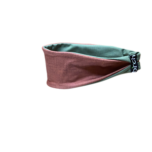 Copper Linen Fitness Headband