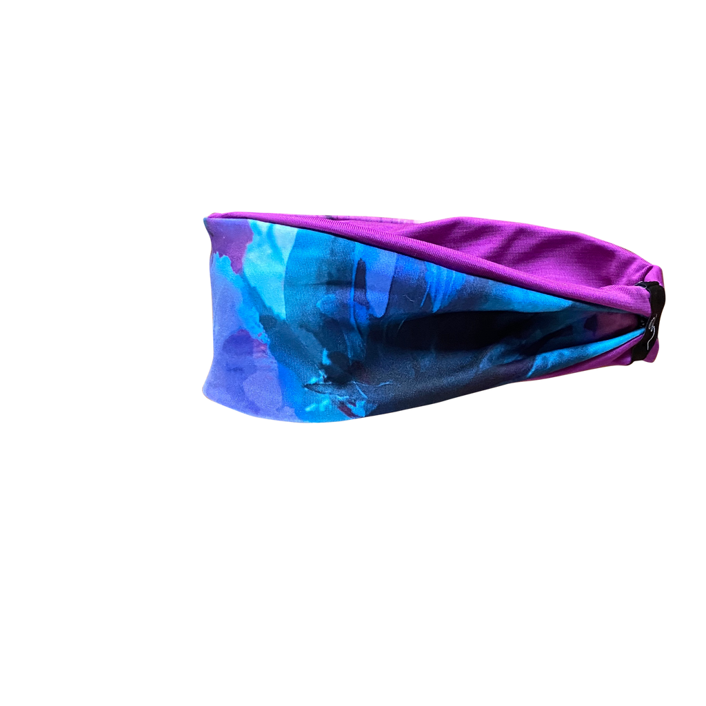 Watercolor Fitness Headband