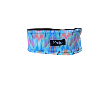 Watercolor Ikat Fleece Headband