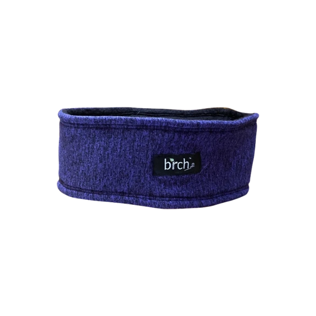 Purple Marl Polartec Lined Headband