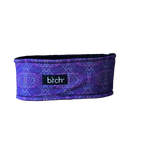 Purple Aztec Fleeced Lined Headband