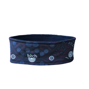 Spotty Medallion Polartec Lined Headband
