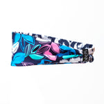 Navy Floral Fitness Headband