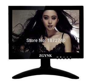 Free shipping 7 inch industrial LCD monitor HDMI hd AV VGA BNC input screen computer monitor