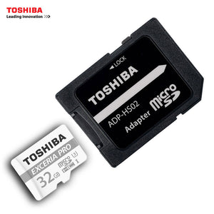 TOSHIBA U3 EXCERIA PRO 32GB 64GB Memory Card 4 k Highway Vehicle Traveling Data Recorder Monitoring Stored Micro SD Card 95MB/s