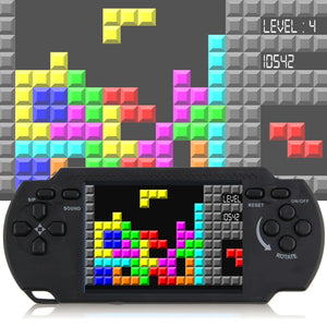 Classic nostalgia Gaming Tetris Portable Handheld Game Console Children's classic Game hand-held gaming device For PSP Gaming