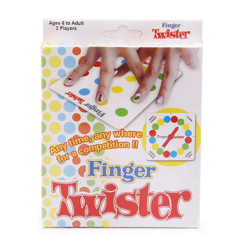 Finger Twister! Dance on Fingers Family Toys Board Game Board Game for Children Adult and Children Game with box