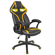 Goplus High Quality Racing Bucket Seat Office Computer Chair High Back Gaming Chair Desk Task Ergonomic Swivel Armchair HW54987