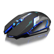 Rechargeable X7 Wireless LED Backlight USB Optical Ergonomic Gaming Mouse Sem Fio Fashion Computer Games Mouse For Pro Gamer