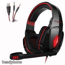 KOTION EACH  Gaming Headset game Headphones Deep Bass Stereo Earphone with LED light  Microphone mic for PC Laptop PS4 Xbox