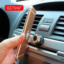 Car Phone Holder Magnetic Air Vent Mount Mobile Smartphone Stand Magnet Support Cell Cellphone Telephone Desk Tablet GPS Holder