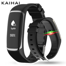 KAIHAI P9 HRV cardiac health real SpO2 Real-time blood oxygen heart rate regular monitor Snoring abnormal Remind Pedometer 2018