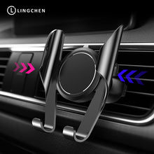 LINGCHEN Car Phone Holder  Universal Air Vent Mount Clip Cell Phone Holder for iPhone 360 Degree Rotation Car Holder Auto Memery