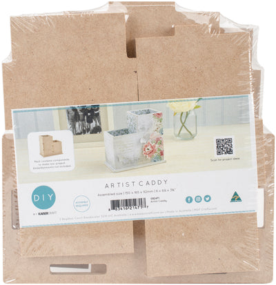 "Beyond The Page MDF Artist Caddy 6""X6.5""X3.75""-"