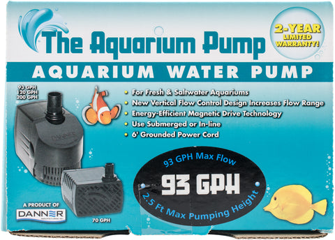 AQUA-Supreme 93 GPH Submersible Pump-