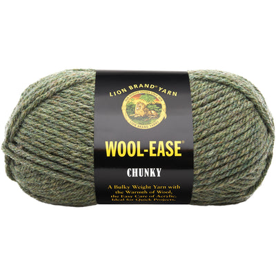 Lion Brand Wool-Ease Chunky Yarn-Willow
