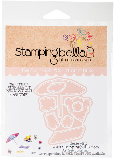 Stamping Bella Cut It Out Dies-Umbrella