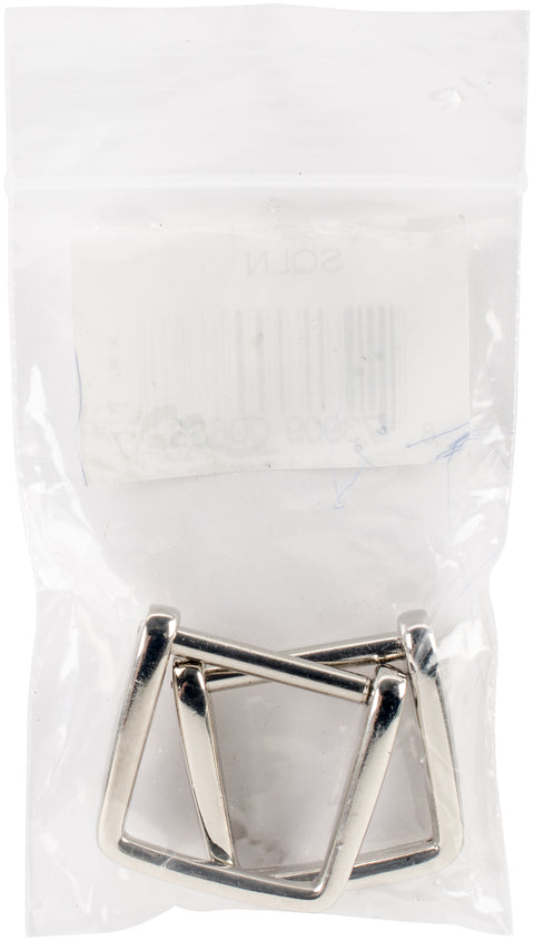 Sunbelt Purse Handle Hooks 2/Pkg-Nickel - Square