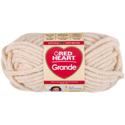 Red Heart Grande Yarn-Aran