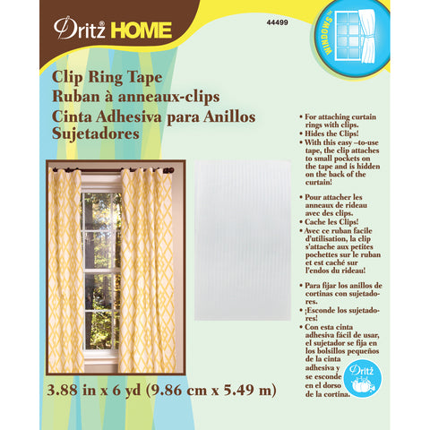 "Dritz Home Cling Ring Tape 4""X6yd-"