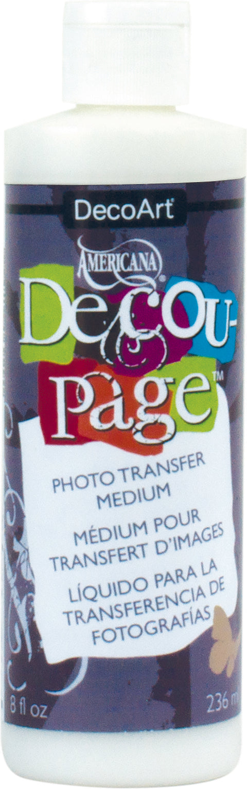 Americana Decou-Page Photo Transfer Medium-8oz