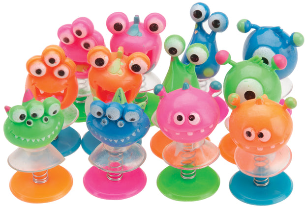 Party Favors 12/Pkg-Creature Pop-Ups