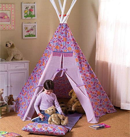 Teepee and Mat-One Size Only