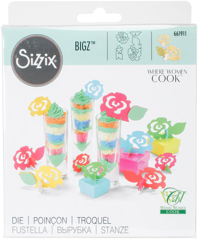 Sizzix Bigz 3-D Die By Where Women Cook-3D Flowers