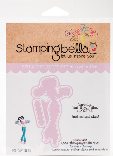 Stamping Bella Cut It Out Dies-Barbella