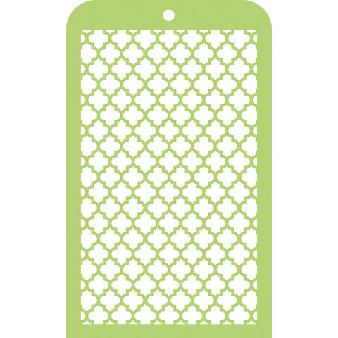 "Kaisercraft Mini Designer Templates 3.5""X5.75""-Moroccan Tiles"