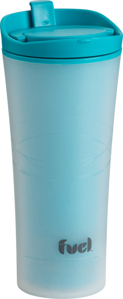 Fuel Micro Double-Walled Tumbler 16oz-Blue