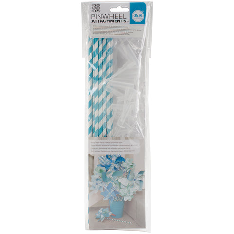 We R Memory Keepers Pinwheel Attachments-Aqua